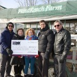 WindReach Farms cheque presentation