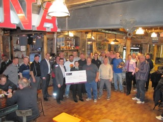 100 Men Scugog & Port Perry Cadets cheque presentation 2
